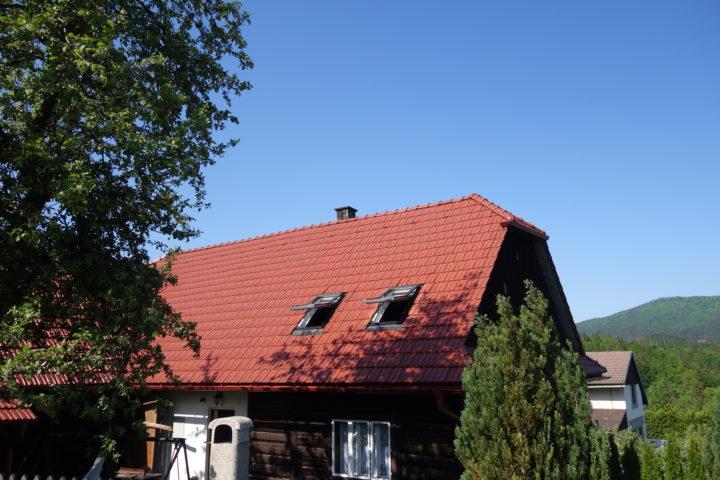 Střecha – Zubří