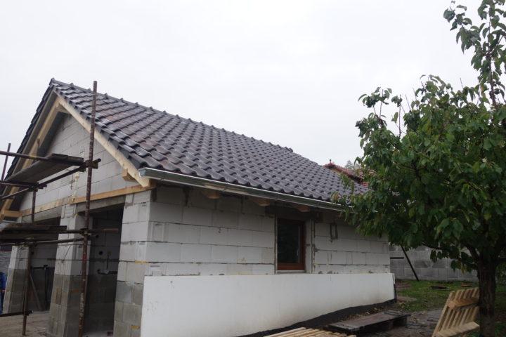 Střecha garáž – Bynina